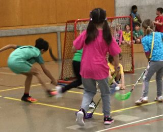 Unihockey-Turnier der Unterstufe