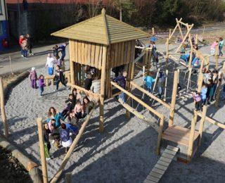Spielplatz Ruchbuck eröffnet