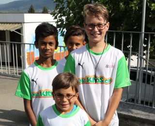 Chrüzlibach am Kids Cup Kantonalfinal